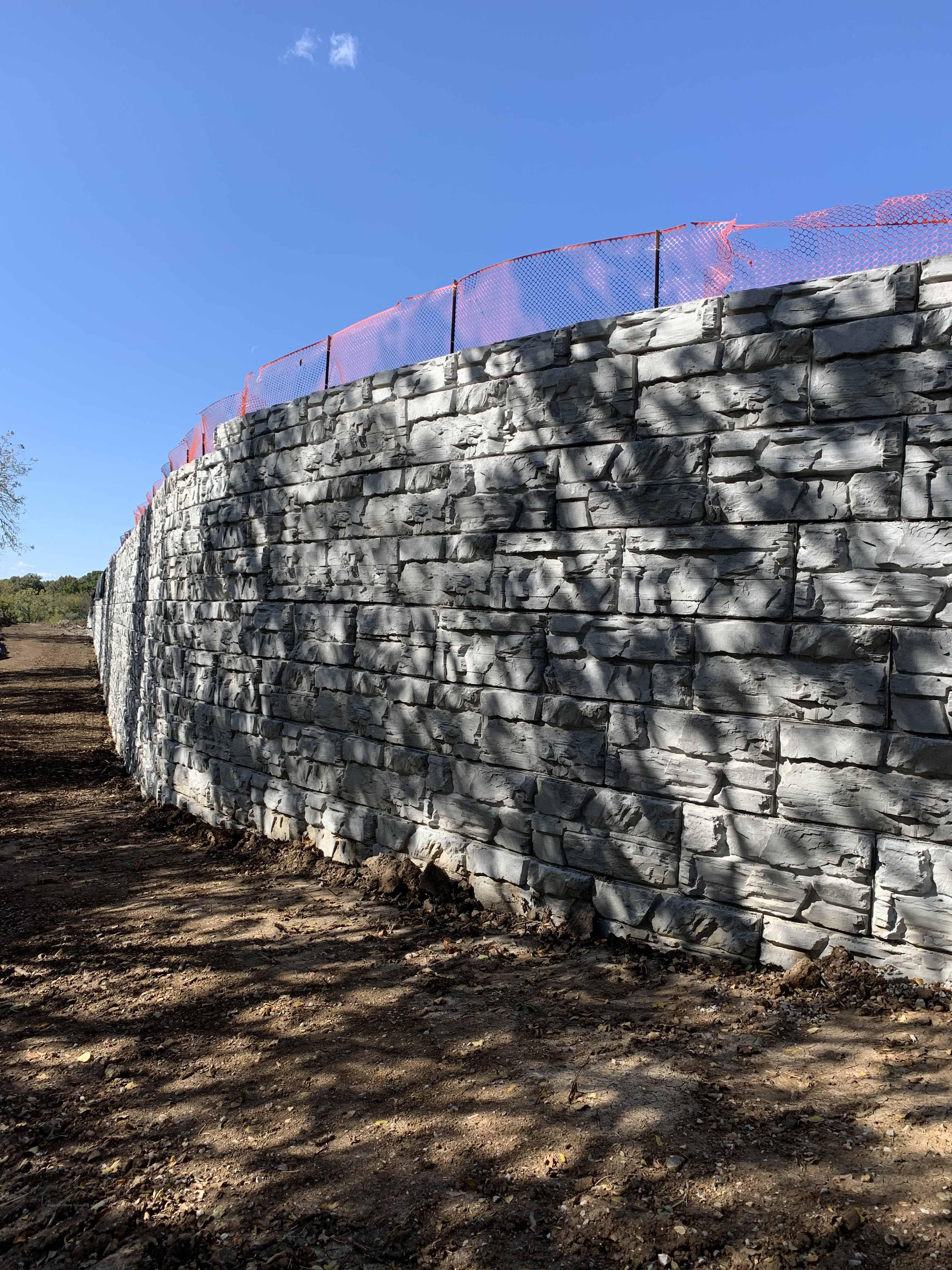 Blue River Missouri Retaining Walls