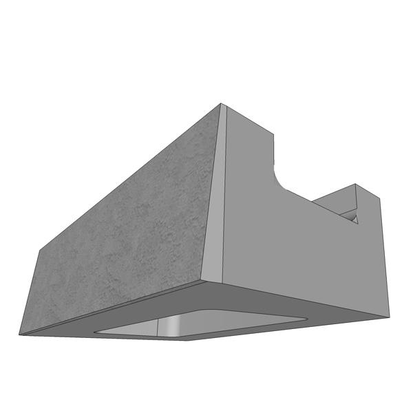 MaxumStone Half High Base Unit