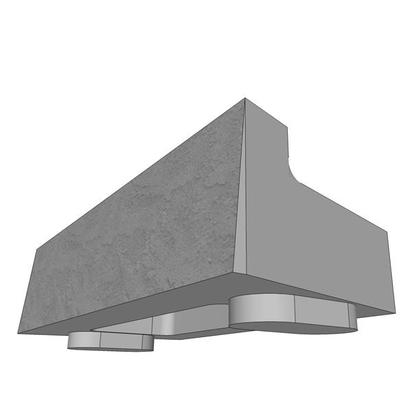 MaxumStone Half High Top Unit