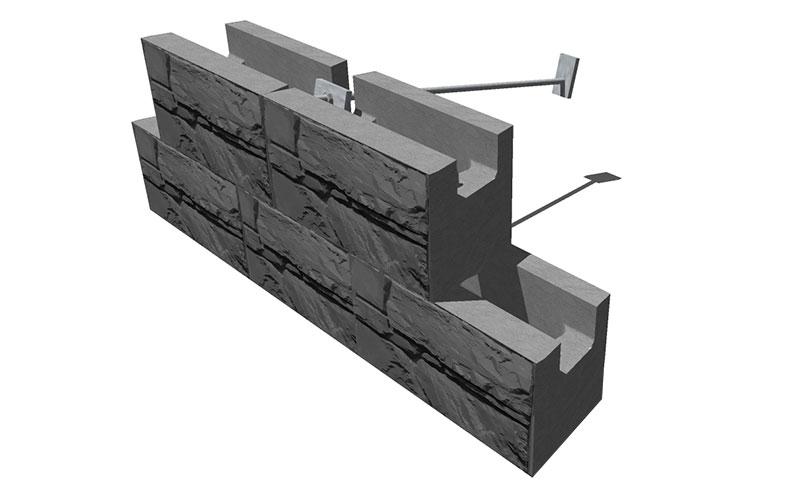MaxumStone Soil Nailing Wall