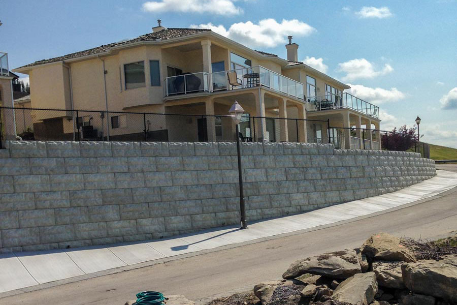 magnumstone-soil-nailing-retaining-wall-completed