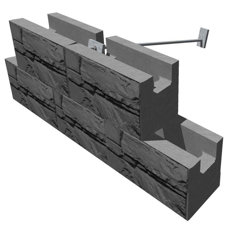 MaxumStone Soil Nailing Retaining Wall