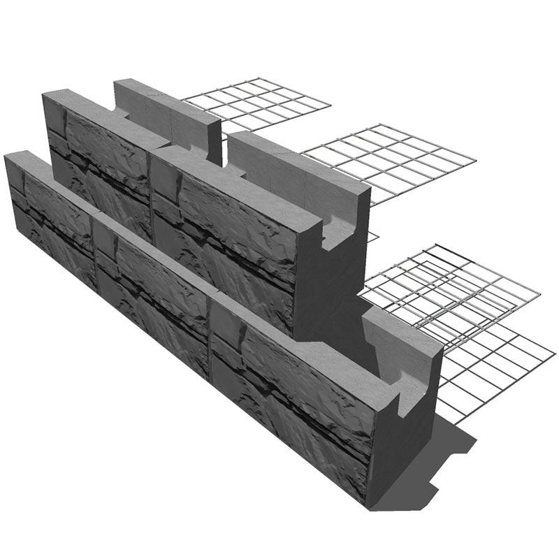 single-steel-grid-wall